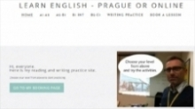 Learn English in Prague facebook like